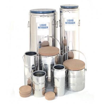 Liquid Nitrogen Open Dewar - 1 litre volume (extra-wide neck)