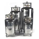 Self-Pressurising Nitrogen Storage Dewar - 160 litre volume