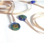 mPuck sample measurement mount - with Niobium-Titanium wiring loom