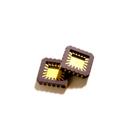 Non-magnetic chip carriers - JEDEC LCC20 size (20 contacts)