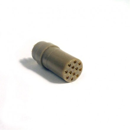 12-way female connector - for cryogenic use
