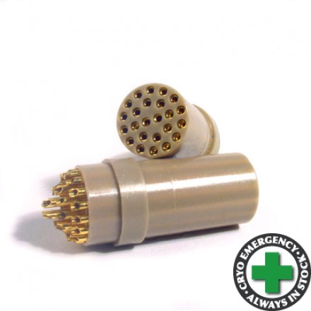 24-way female connector - for cryogenic use