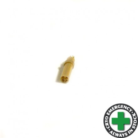 4-way female connector - for cryogenic use