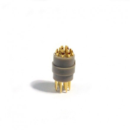 12-way male connector - for cryogenic use