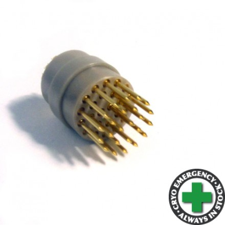 24-way male connector - for cryogenic use