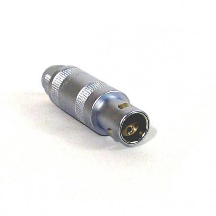 2-way Lemo plug - for Low-Noise AC-measurements