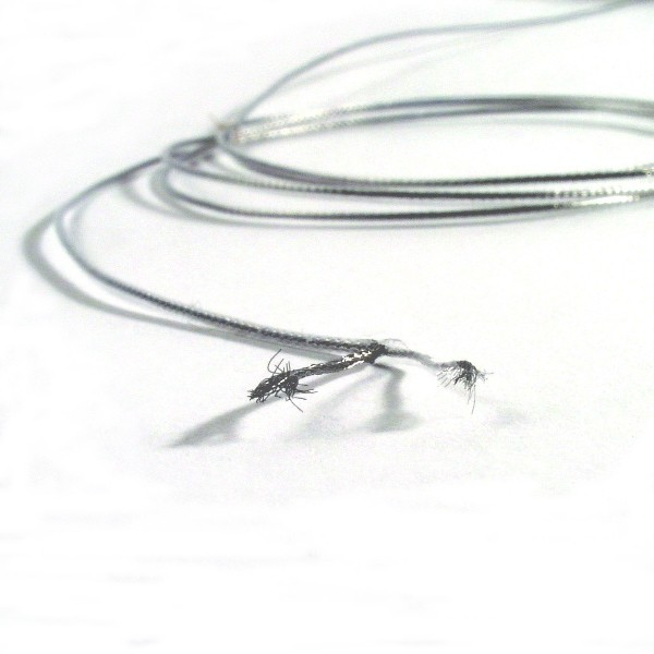 Miniature Braided Stainless Steel Coax 1mm Od
