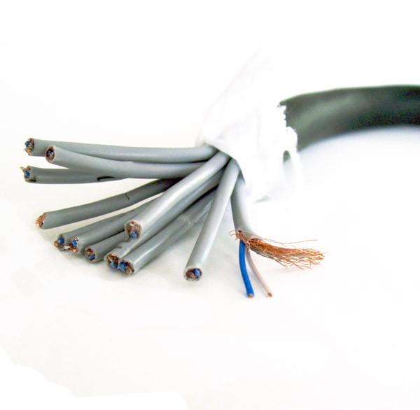 24-adriges Kabel (12 geschirmte Paare) - Meterware für rauscharme ...