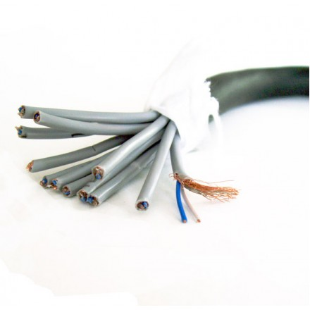 24-way (12 shielded pairs) cable - 5m length