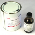 Stycast 2850 FT Black Epoxy - with catalyst 23LV (1Kg Kit)