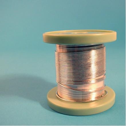 Indium wire (99.99%) - 2mm di. - 5m spool