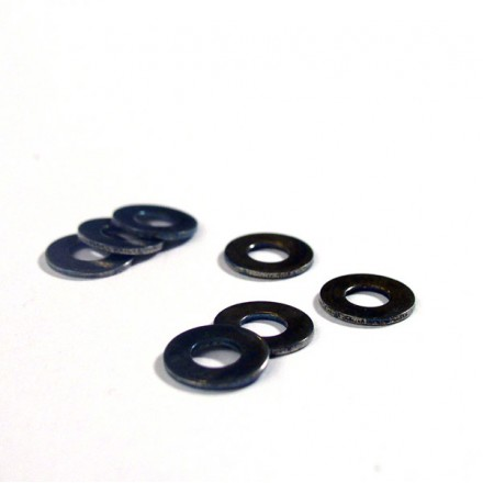 Molybdenum cryogenically tightening washers - M4 size (0.8mm thick)