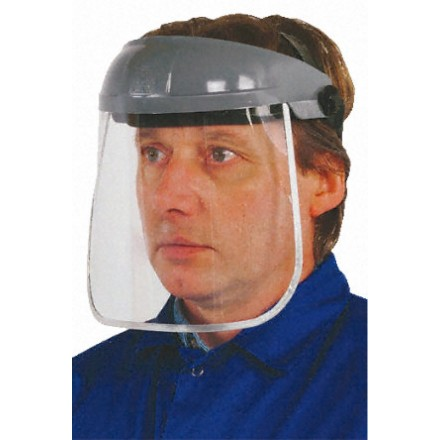 Polycarbonate face shield - for Cryogen Dispensing