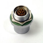 27-way Receptacle with sockets - hermetic connector