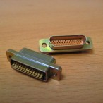 25-way Microminiature-D Plug with sockets - for cryogenic use