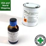 Stycast 2850 FT Black Epoxy - with catalyst 24LV (0.25Kg Kit)