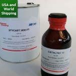 Stycast 2850 FT Black Epoxy - with catalyst 11 (0.25Kg Kit)
