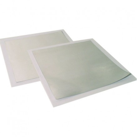 Indium foil (99.99%) - 100micron thick 100x100mm